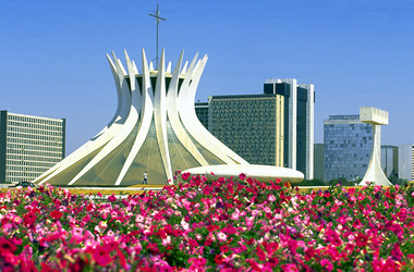 Kathedrale in Brasilia
