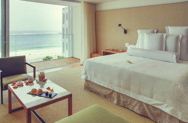 Juniorsuite mit Meerblick im Hotel Emiliano in Rio